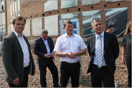 ВОктябрьском районе Красноярска откроется новая зона отдыха