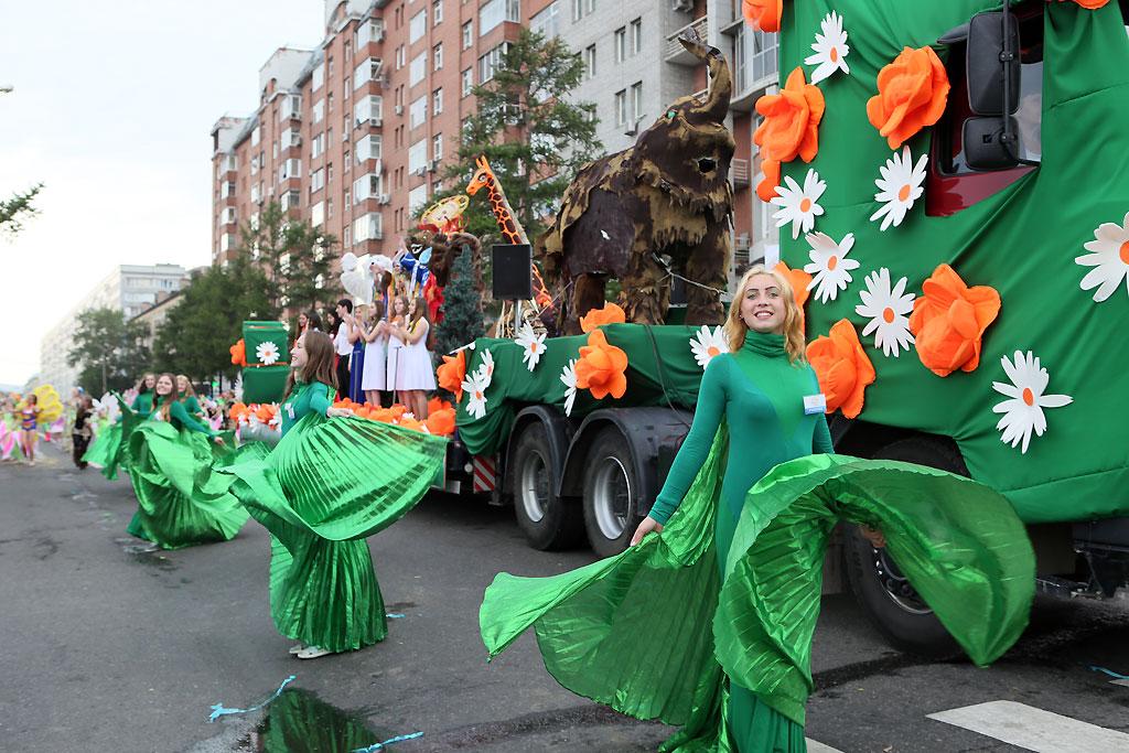 В красноярске завершается работа по расконсервации городских фонтанов